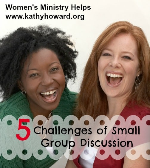 5 Challenges of Small Group Discussion