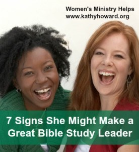 7 Signs She Might Make a Great Bible Study Leader