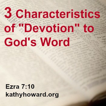 How to be Devoted to God's Word