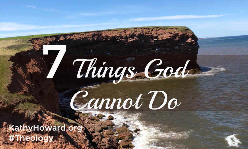 7 Things God Cannot Do